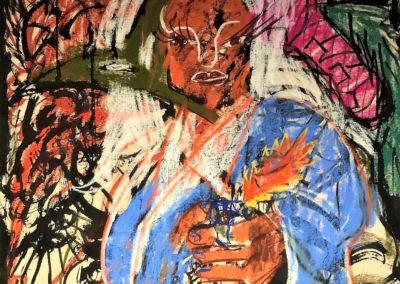 JATZ (Juho Arvola): Maalauksia ja piirustuksia